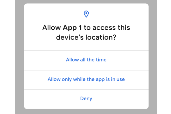 Giving users more control over location