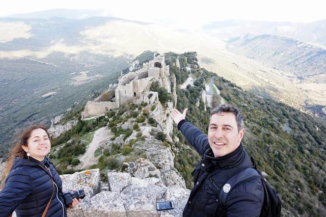 vistas castillo de Peyrepertuse
