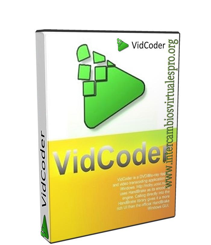 VidCoder 2.49 poster box cover