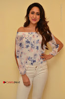 Actress Pragya Jaiswal Latest Pos in White Denim Jeans at Nakshatram Movie Teaser Launch  0053.JPG