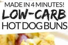 Low Carb Hot Dog Buns
