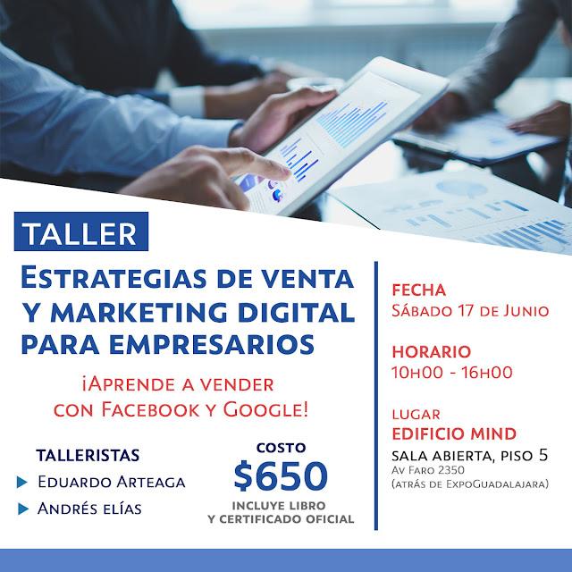 Taller ventas con Facebook y Google Andres Elias