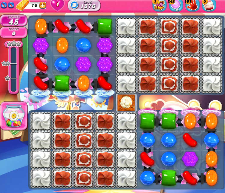 Candy Crush Saga 1376