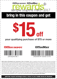 free Office Max coupons march 2017