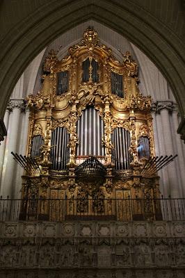Órgano de la Catedral de Toledo