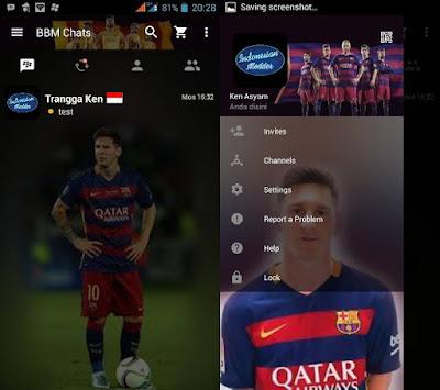 Kumpulan BBM MOD Klub Sepak Bola Internasional V2.12.11 Terbaru 2016