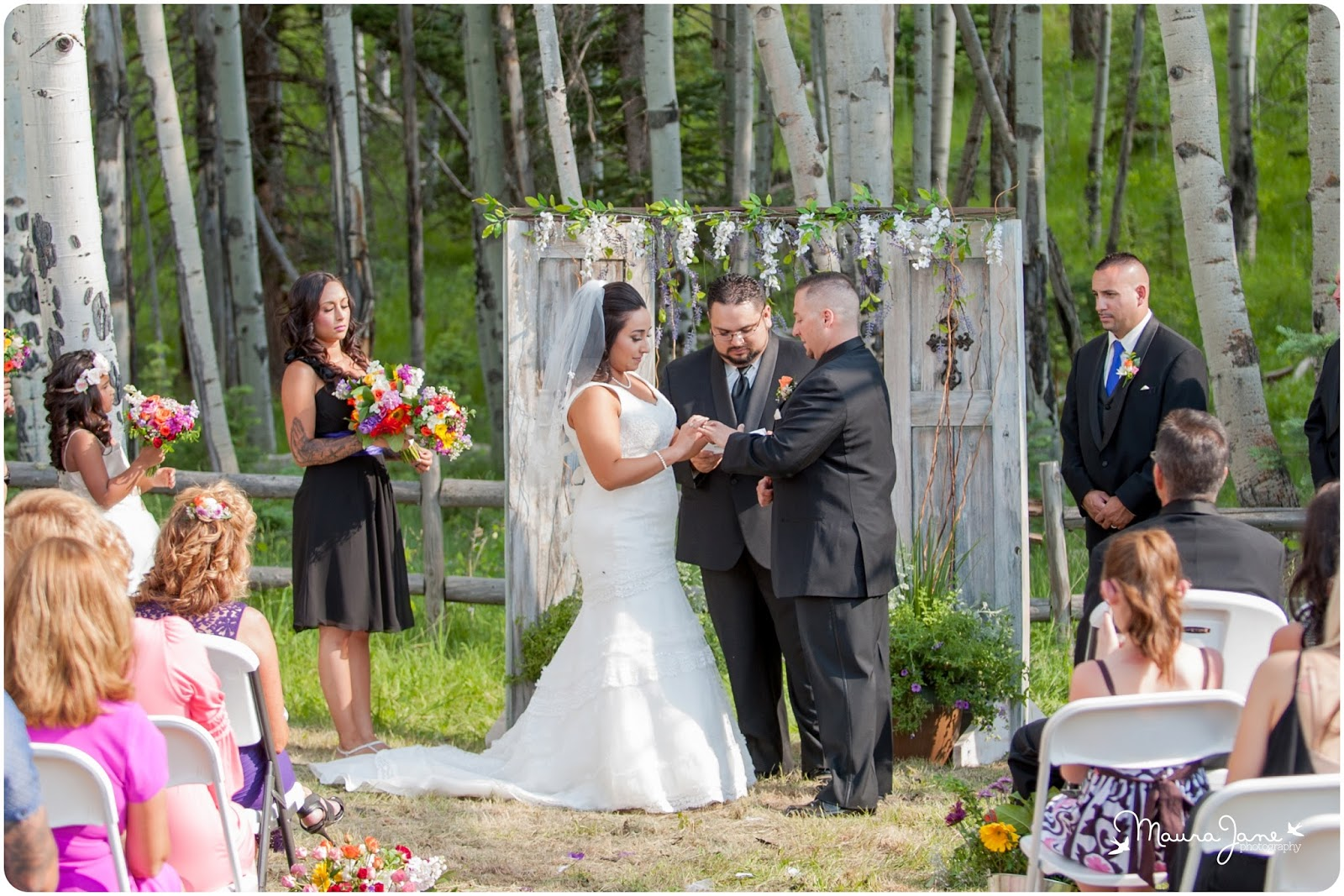 Angel Fire Resort Retreat At Wedding Outdoor