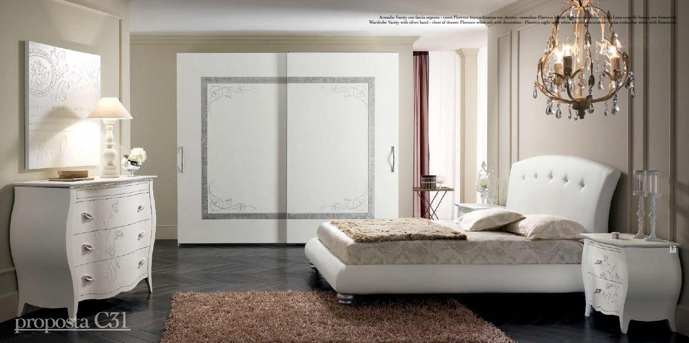 Arredi spatafora spar camera da letto florence prestige a for Offerta camera letto