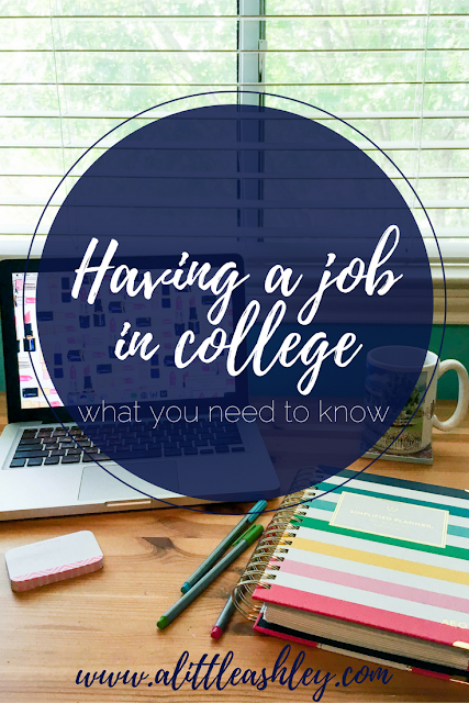 Job Tips for College Students
