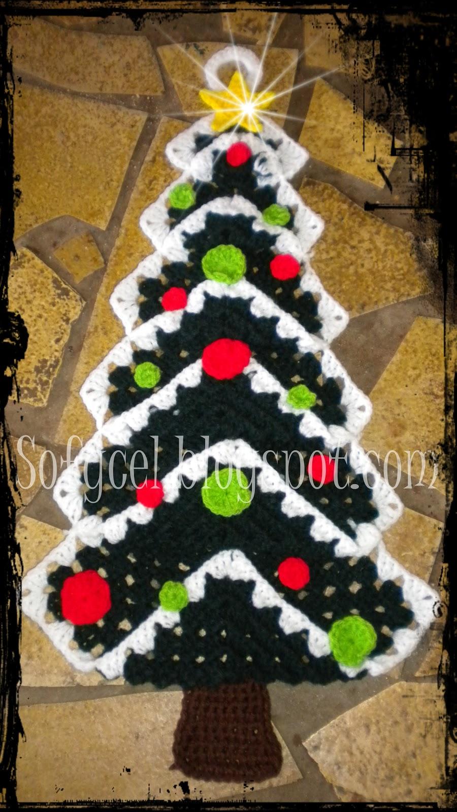Sofycel creaciones la navidad se acerca for Puertas decoradas arbol de navidad