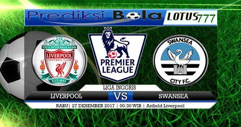 PREDIKSI  Liverpool vs Swansea  27 DESEMBER 2017