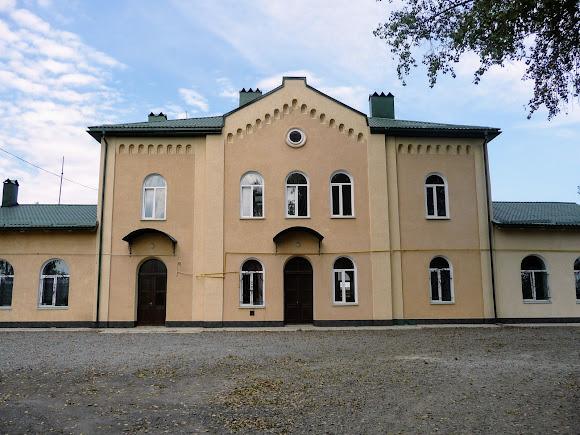 Лужаны, Черновицкая область. Железнодорожный вокзал. 1902 г