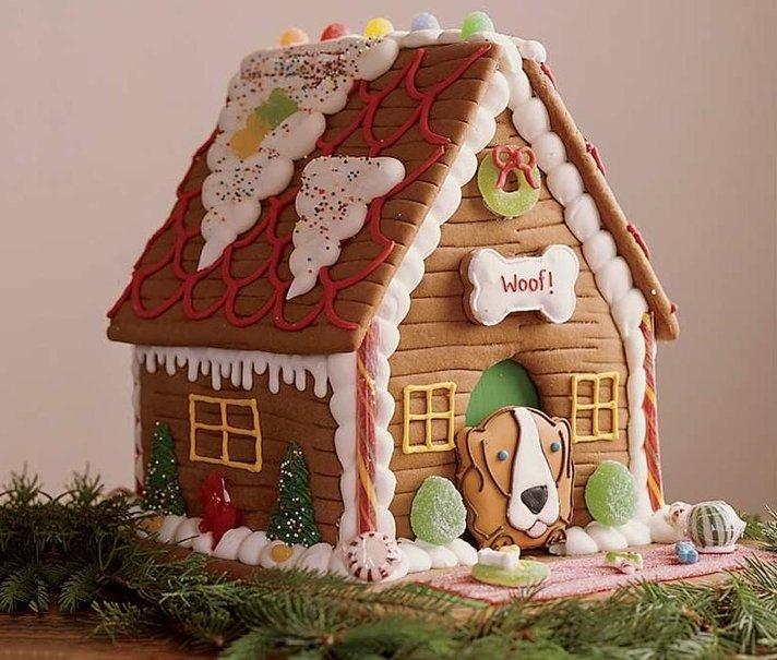 Colecci n de gifs comidas navide as im genes de - Casitas de navidad ...