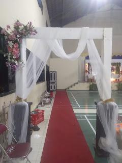 Dekorasi Gate Sederhana