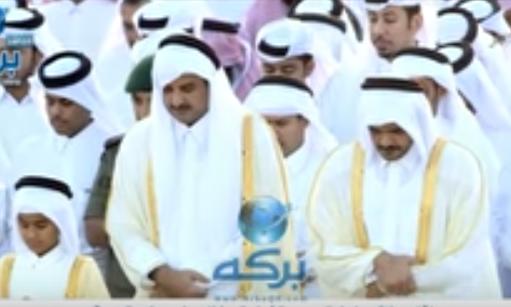 بالفيديو :  صلاة عيد الفطر من دولة قطر 25ـ6ـ2017م