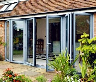 Kumpulan Desain contoh gambar model kusen kaca aluminium untuk rumah minimalis.