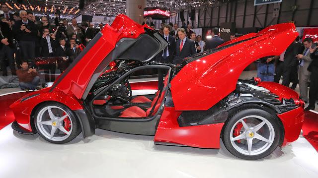フェラーリ 歴代の名車 ラ フェラーリ