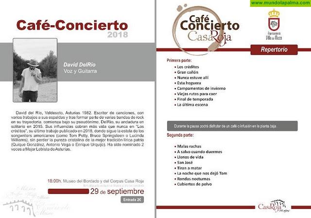 """Mañana vuelve el ciclo """"café & concierto"""" a Villa de Mazo"""