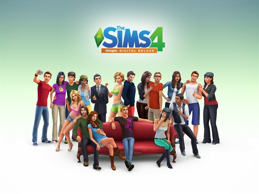 The Sims 4 Deluxe Edition Download Poster