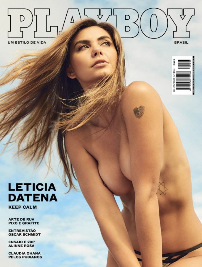 Download Revista Playboy: Leticia Datena Abril/Maio 2017