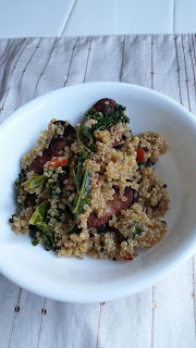 gluten free dirty quinoa