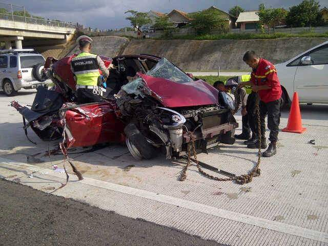 Kecelakaan di Tol Cipali, Official PON XIX Tewas