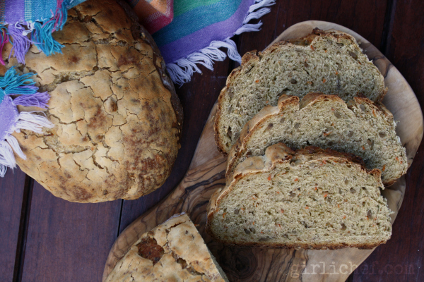 <b>Carrot Bread</b> {Bread Baking Babes}