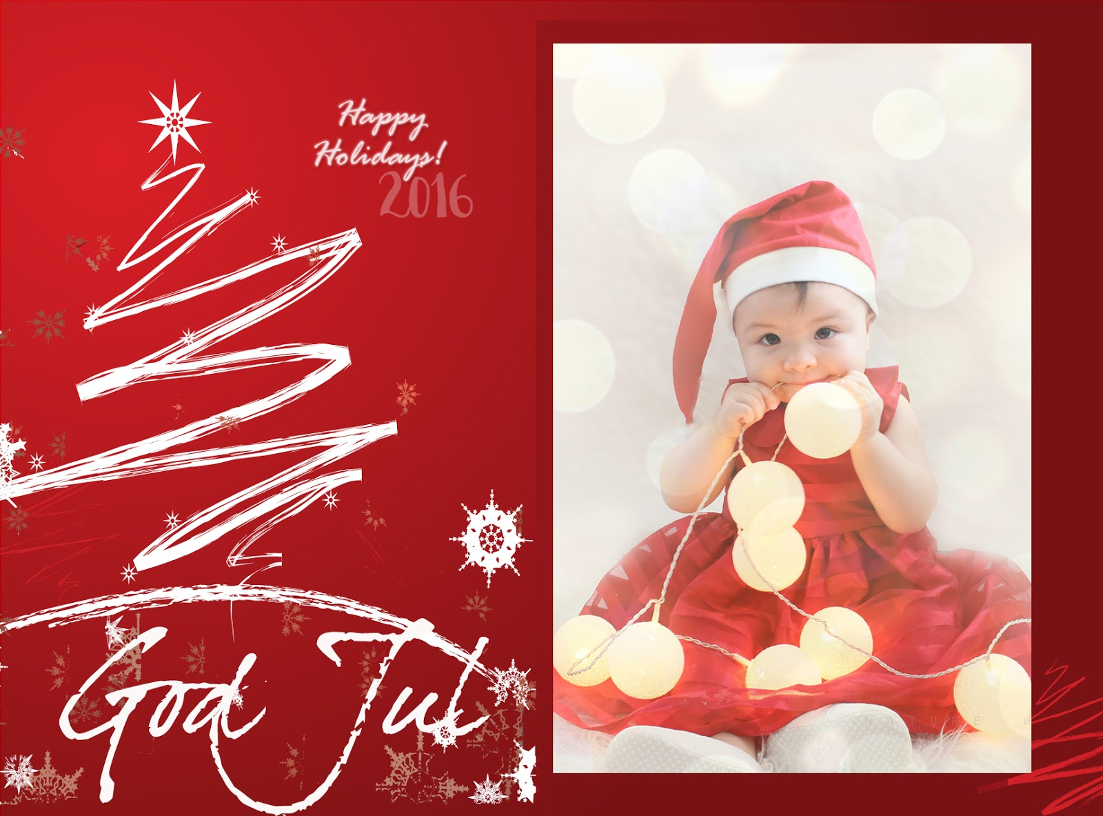 FREE Christmas Card Design PSD - MadeByHind