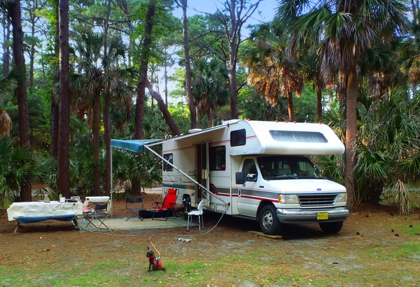 Hunting Island State Park and Campground in South Carolina  photo by  DearMissMermaid.Com