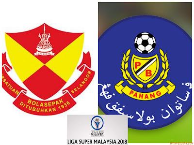 Live Streaming Selangor vs Pahang Liga Super 24 Februari 2018