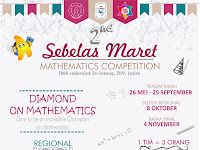 You're invited to join us on 2nd Sebelas Maret Mathematics Competition