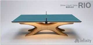 リオオリンピックで採用された天童木工とサンエイの卓球台