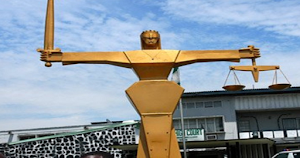 I Can't Laugh O! Confusion In Lagos Court As Two Men Fight Over A Woman, Judge Left In Shock