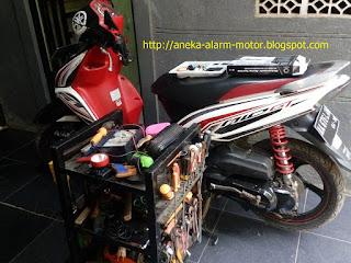 Cara pasang alarm motor pada Yamaha Mio GT