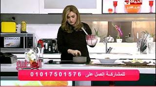 المطبخ  الشيف آية حسنى - طريقة عمل بودنج ساخن للدايت