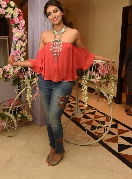 Hamsa Nandini In pink Dress At Sutraa Fashion Store