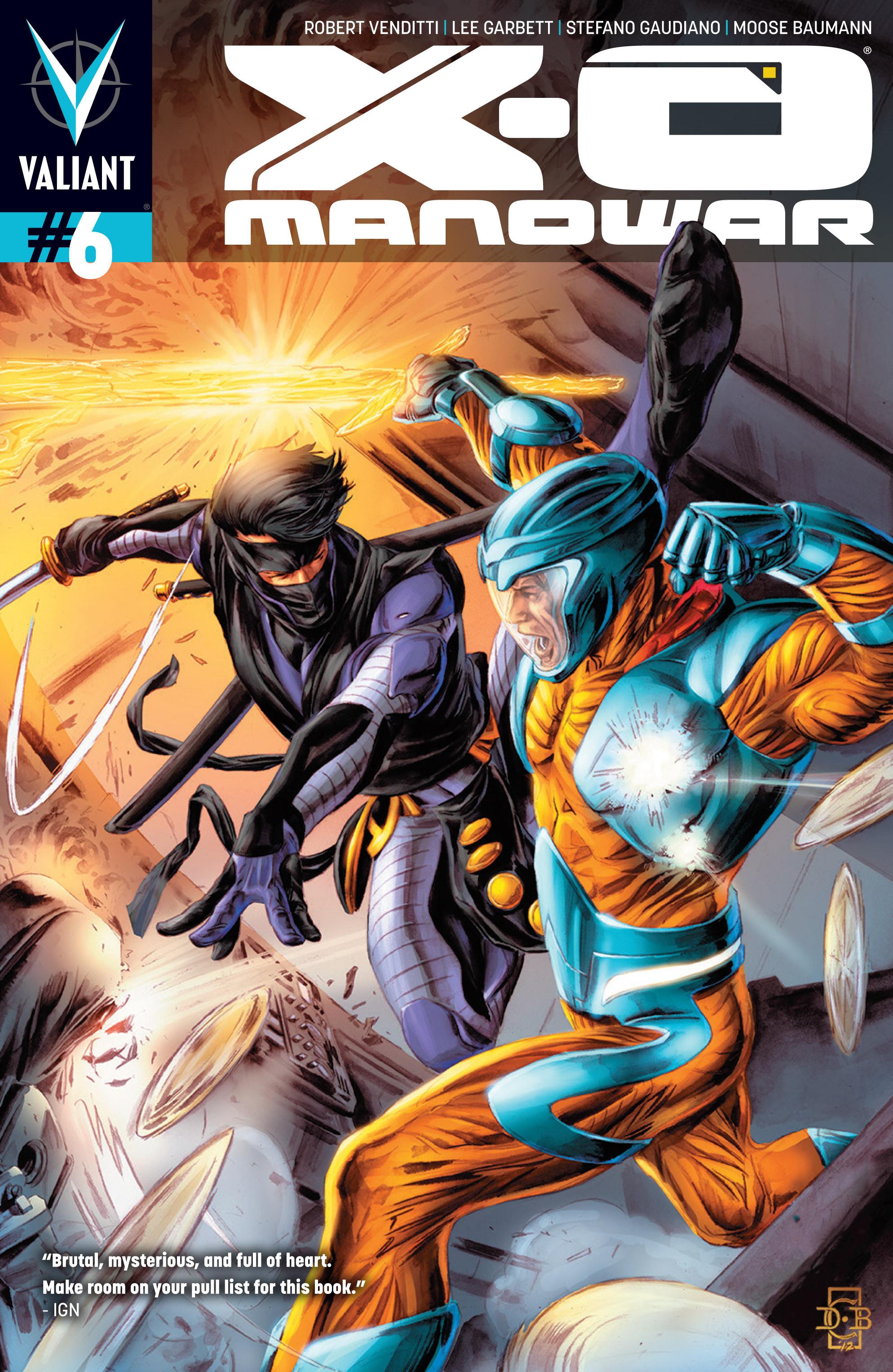 X-O Manowar (2012) 6 Page 1
