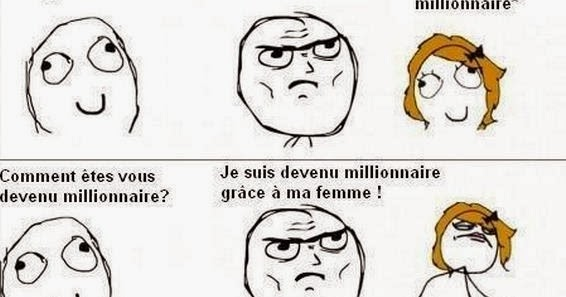 Fille cherche millionnaire