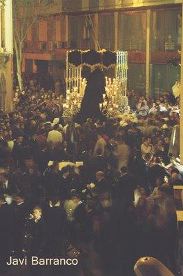 Cambios de Itinerario Presente y futuro en la Semana Santa de Almeria