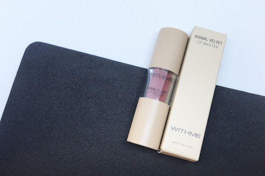 H A N N A: WithMe Signal Velvet Lip Master in 25 Brick Signal Review