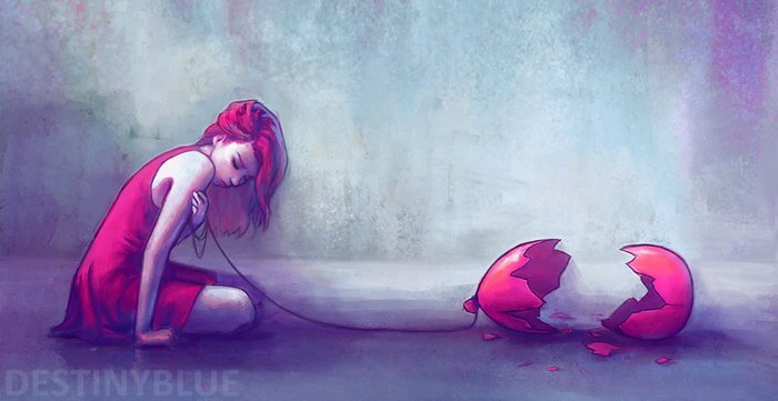 20 Powerful Illustrations That Show What It's Like To Deal With Depression