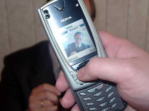 Telefon Berkamera Pertama