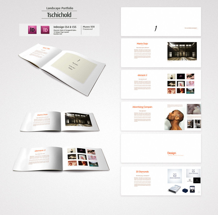 Printed Portfolio Examples: ThE LiFe Of SkYE: Portfolio Ideas