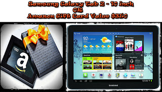 samsung galaxy or amazon gift card giveaway