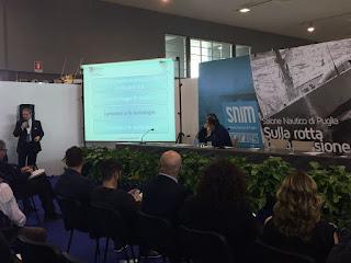 Convegno Industry 4.0 al Salone Nautico di Puglia VX edizione - Relatore Vincenzo Guido di Venosa di Cherry Consulting