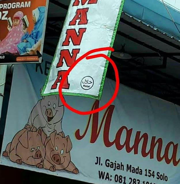 Heboh, Kedai Babi di Solo Pasang Label Halal