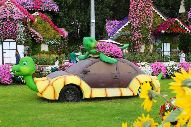 Miracle Garden Displays, Dubai