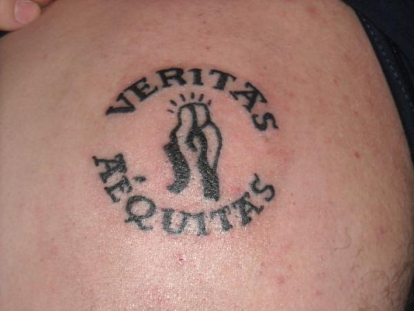 Veritas Aequitas Tattoo Designs