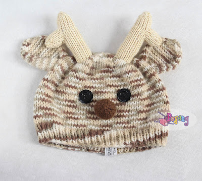 July Ravelry upload: Baby Deer Hat & Earflap Hat with Cat Ears