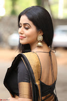 Poorna in Cute Backless Choli Saree Stunning Beauty at Avantika Movie platinum Disc Function ~  Exclusive 031.JPG